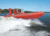 Hypalon/PVC de Opblaasbare Boot van de Rib (RIB480A)