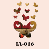 Бабочка - Настенные часы (IA-016)