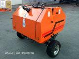 Pressa per balle rotonda d'imballaggio del fieno guidata Pto del trattore della macchina dell'azienda agricola mini per il servizio degli S.U.A.
