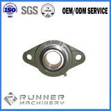 Aluminiumlegierung Druckguss-Zylinder-Gehäuse-Teil CNC-maschinell bearbeitenteil