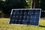 Painel solar Semi flexível elevado de eficiência de China 100W