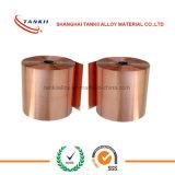 Couloir Nickel Alloy CuNi2 Foil pour Relais de surcharge thermique