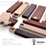 Doos van de Verpakking van de Pen van het Ontwerp van de Luxe van Hongdao de Natuurlijke Houten