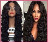 2016new Arrival 브라질 Virgin Human Hair Glueless Full Lace Wig