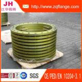 Flange do aço de carbono da placa do zinco de Fifting da tubulação