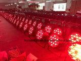 54 *3 RGBW LEDの段階の同価はビーム移動ヘッド照明効果とつくことができる