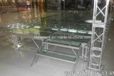 piscina Stage di 1.22X1.22m Acrylic Glass Dancing Stage Portable