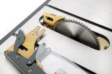 """アーバーの裂くナイフの木工業表を傾けることを残っていた木工業機械HW110LG-50 10は""""見た"""