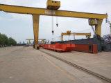 10 toneladas L tipo fabricante eléctrico de la fábrica de la grúa de pórtico de la carretilla del torno