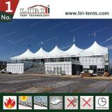 sedi della gente della stretta 1200 della tenda della grande parte superiore di 25X60m con una fase