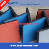 Azulejos de goma/azulejos de goma del dispositivo de seguridad/azulejos de goma de la gimnasia o del patio