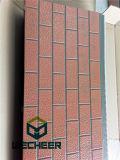 """Panneau """"sandwich"""" isolé par faisceau en métal de décoration de polyuréthane pour le mur externe"""
