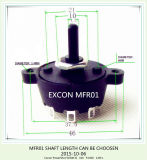Excon Mfr01 Rotary Switch Longo e curto Shaft Position Toggle Switch
