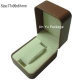 Uhr-Verpackungs-Plastikkasten der Kappen-Jy-Wb14 u. des Unterseiten-steifer Geschenks