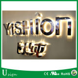 中国の卸し売り市場LEDの経路識別文字、DIYのLEDによってバックライトを当てられる経路識別文字の印