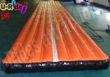 Pista di aria di gonfiamento arancione per ginnastica di sport