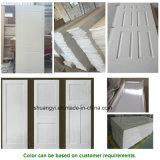 La plus récente conception en PVC MDF porte intérieur porte d'entrée en bois