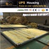 Chambre préfabriquée diplôméee par SABS durable de conteneur avec deux chambres à coucher