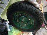 Roda pneumática da borracha da roda do pneumático do Wheelbarrow