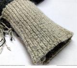 Der Frauen Stern-Strickjacke-beiläufiger stilvoller loser Strickwaren-Poncho der Pullover-lange Hülsen-fünf