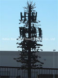 위장 통신 폴란드 및 야자수 Monopole 탑