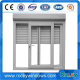 Fenetre en verre trempé en aluminium simple / fenêtre et porte coulissante en aluminium