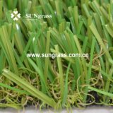 erba artificiale di svago del giardino di paesaggio di 38mm (SUNQ-AL00090)