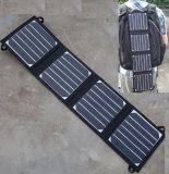 充満ラップトップのための15W携帯用Sunpowerの太陽電池パネル