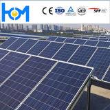 PV Module solaire en verre 310W Poly de verre pour module solaire en verre trempé