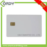 Blanc blanc ISO 7816 SLE5542 / SLE4442 Contact Carte IC