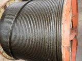 직류 전기를 통한 철강선 밧줄 케이블 6X19s+FC