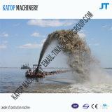 350mmの管が付いている14インチの砂の浚渫船の砂の吸引の浚渫船