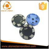 3 Plugs를 가진 100mm Klindex Metal Diamond Grinding Segment