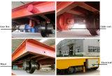 Carrinho de transferência de bobina aplicada da fábrica de aço em trilhos