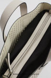 Het Ponsen van de ontwerper Pu Dame Handbag Fashion Stitching Women Handtas