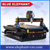 Máquina do Woodworking do CNC dos fabricantes da máquina do CNC com dispositivo giratório