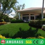 Весьма реалистическая поддельный трава для отдыха и ландшафта с 4 цветами