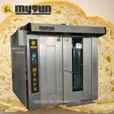 Il forno di cottura della macchina dell'alimento marca a caldo 32 cassetti gas diesel forno rotativo della cremagliera