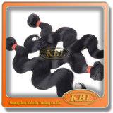 Волосы Remy черноты двигателя красивейшей волны бразильские