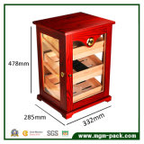 High-End Customized de rangement en bois Cabinet Cigar