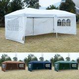 防水屋外の折りたたみの4つのPCSの側面が付いている容易な破裂音のおおいのテント