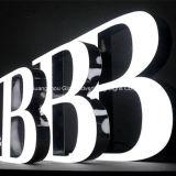 3D文字の印および樹脂の表記LEDチャネルの印