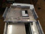 chapa metálica pesado corte e solda peça de aço macio transformados