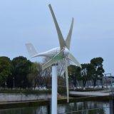 die niedrigen Schaufeln 500W 5 laufen Dach-Wind-Generator an