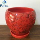 Hot-Sale decoração de jardim de flores de cerâmica Pot