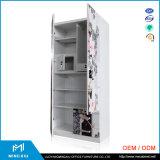 ルオヤンの高品質2のドアの鋼鉄ワードローブのキャビネット/ワードローブの戸棚