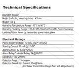 De UV Sensor van het Alarm van de Vlam met de Output van het Relais (S-CF6002)