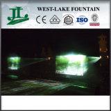 Fontaine extérieure de film de rideau en eau