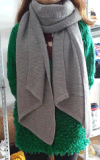 Tejido de moda Dama bufanda chal mayorista (TG-SH005)