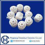 Chemshun 높은 반토 10의 구멍 반지 (Al2O3: 99%) 직업적인 제조자